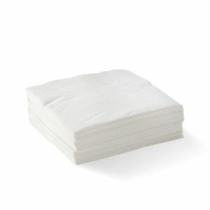 2 Ply White Cocktail Napkin